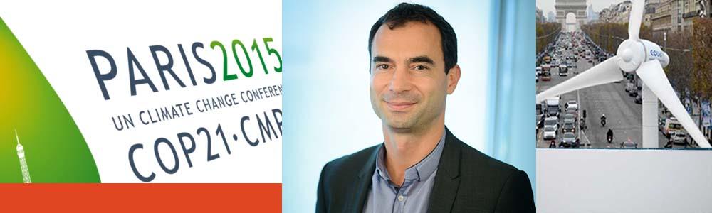 """Pierre Forestier, responsable de la division """"Changement climatique"""" à l'Agence française de développement (AFD). Les suites de la COP 21, le 1er février"""